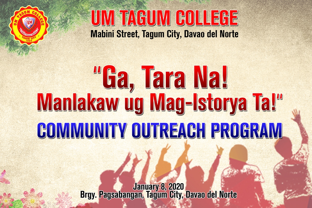 UMTC COMMUNITY OUTREACH PROGRAM 2020